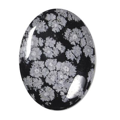 Obsidiana Floco de Neve