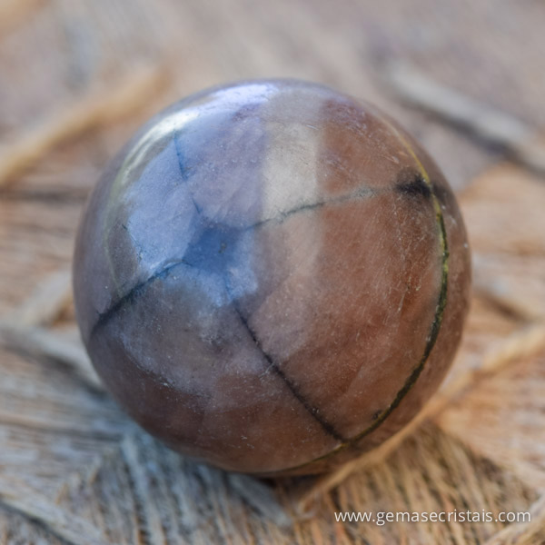 Esfera de Quiastolite