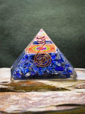 Pirâmide Orgonite Sri Yantra
