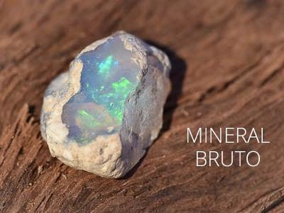 Mineral Bruto - Gemas e Cristais