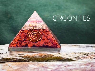 Orgonites - Gemas e Cristais