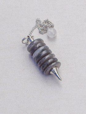 Pêndulo de cristal Labradorite