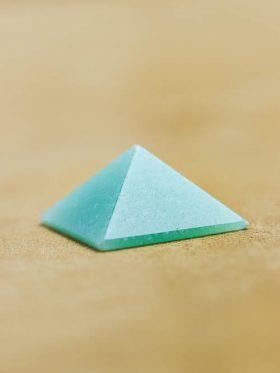 Mini Pirâmide de Quartzo Verde