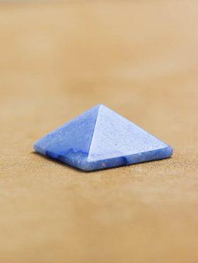 Mini Pirâmide de Quartzo Azul