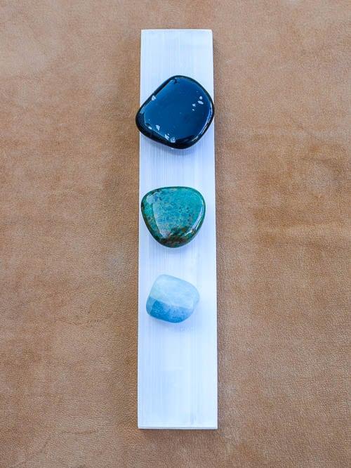 Placa de cristal Selenite