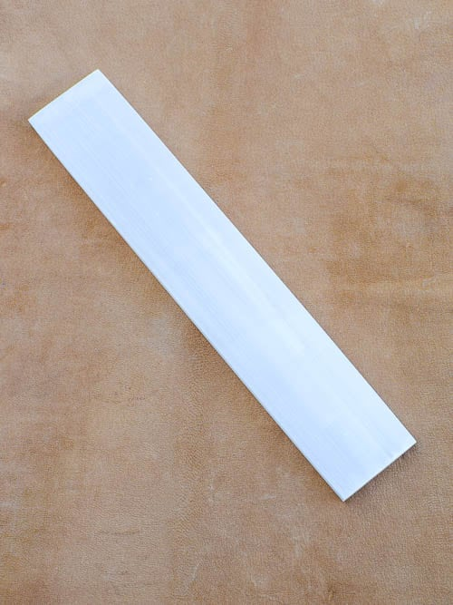 Placa de Selenite Branca